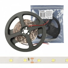 Лента светодиодная [3 м] Volpe ULS-Q921 ULS-Q921 2835-60LED/m-8mm-IP20-DC12V-4,8W/m-3M-WW катушка в герметичной упаковке